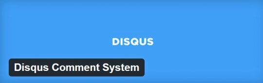 disqus plugin per commenti su wordpress