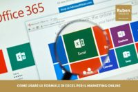 Come usare le formule di Excel per il marketing online
