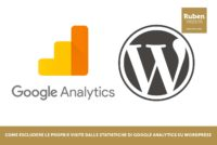 Come escludere le proprie visite dalle statistiche di Google Analytics su WordPress