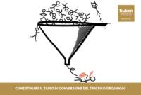 Come stimare il tasso di conversione del traffico organico?