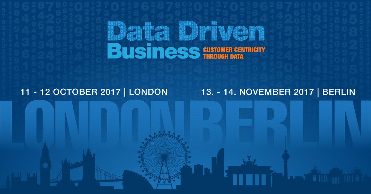 Data Driven Business - London 2017