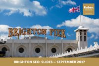 Brighton SEO: slides – September 2017